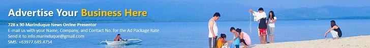 Marinduque News Online Advertisement 728 x 90 v1