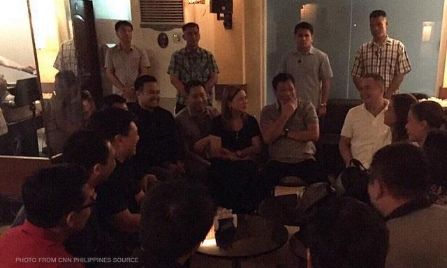 Duterte meets lawmakers in Davao