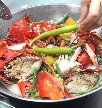 Step 8. For some heat or spice, add 'filing pangsigang' to the dish. Serve while hot.