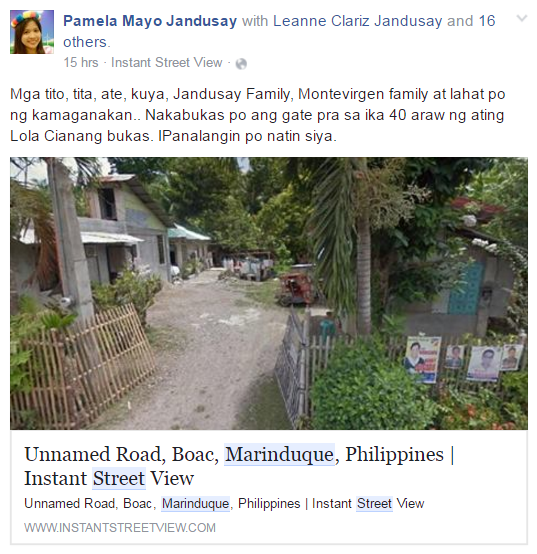 Google Instant Street View_Marinduque_Paamela Mayo Jandusay
