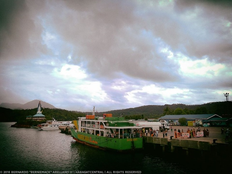 Balanacan Port in the town of Mogpog. This is Marinduque's main port of entry.