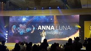 Ana J. Luna Best Supporting Actress Paglipay ToFarm Fim Festival 2016