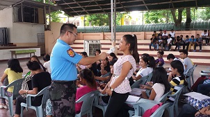 Marinduque PNP, nagsagawa ng seminar para sa mga kabataan