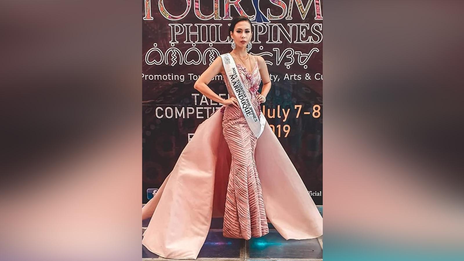 Ms. Tourism PH Marinduque 2019 Princess Nicca Blackburn during the Long Gown Presentation at SM Fairview, Quezon City
