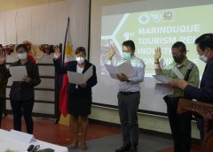 Bagong opisyal ng Marinduque Prov'l Development Tourism Council, nanumpa