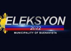Mga tatakbo bilang mayor, vice mayor at councilor sa Buenavista